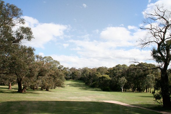 Kilmore Hole 2 Tee shot