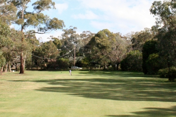 Kilmore 2nd green