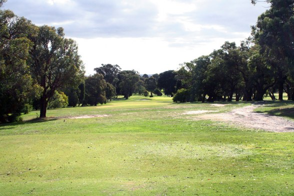 Kilmore golf club 8th tee shot