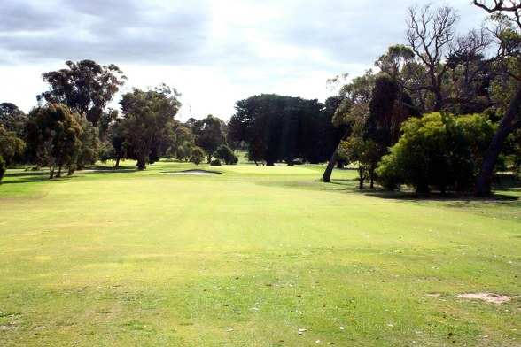 Kilmore golf club 8th approach