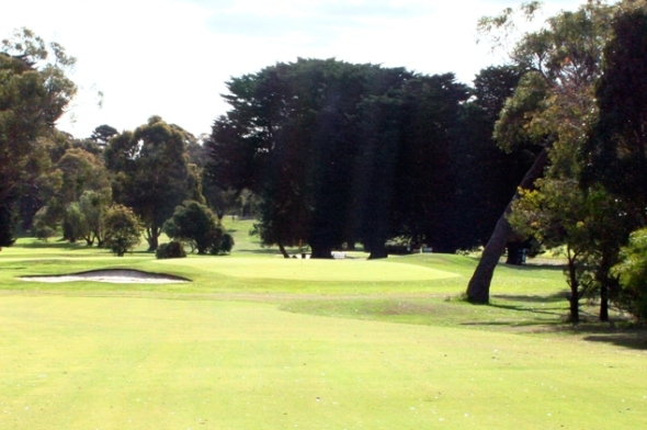 Kilmore golf club 8th Green