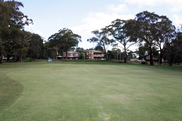Kilmore Golf Club 9th Approach