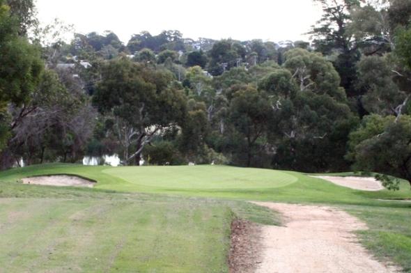 Kilmore Golf Club 10th Green