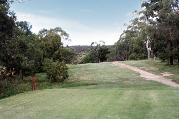 Kilmore Golf Club 11th Tee Shot