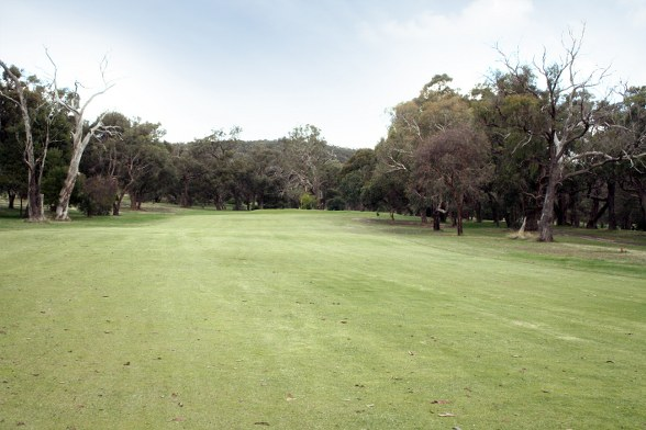 Kilmore Golf Club 14th Approach