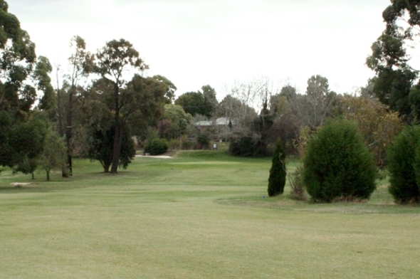 Kilmore Golf Club 15th Approach 2
