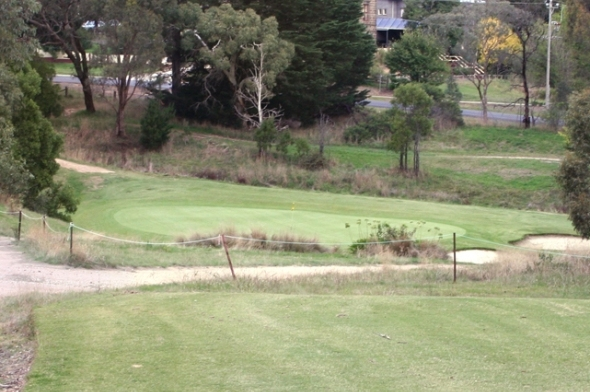 Kilmore Golf Club 17th Green
