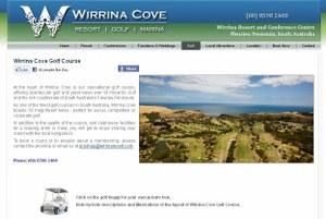 wirrina golf resort